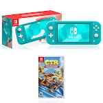 Nintendo Switch Lite Turquoise + Crash Team Racing - Nitro-Fueled