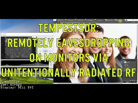 TempestSDR: An SDR tool for Eavesdropping on Computer Screens via Unintentionally Radiated RF