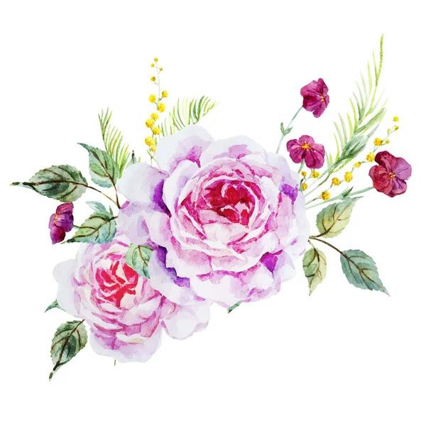 Ładne róże — Wektor stockowy #69618773