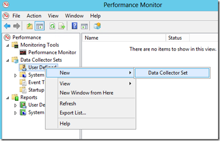 Troubleshoot Windows Server 2012 Performance with a Data Collector | Peter Viola