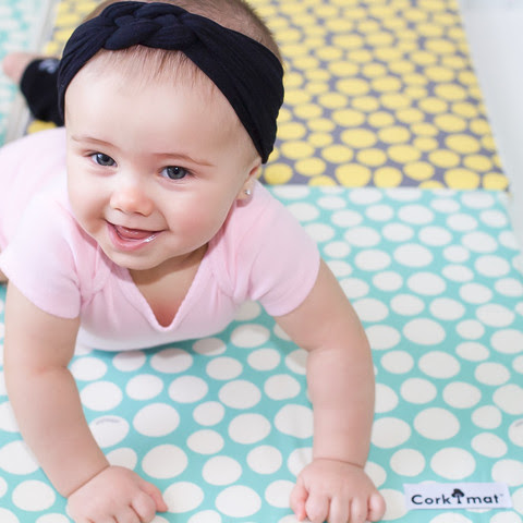 Pillobebe :: A totally non-toxic, super stylish playmat for your children - Toby and Roo