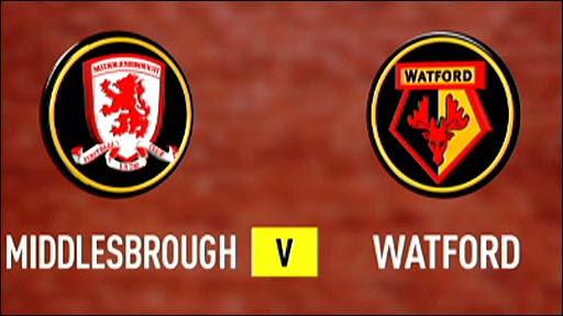Resultado de imagem para Middlesbrough vs Watford