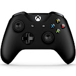 Microsoft Xbox Wireless Controller w/ Bluetooth for Xbox One, Xbox One S & Windows 10 - Black