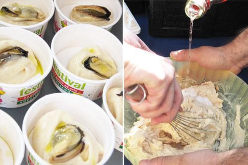 Sorbetto alla pesca e Brut Rosè Cantina Garofoli