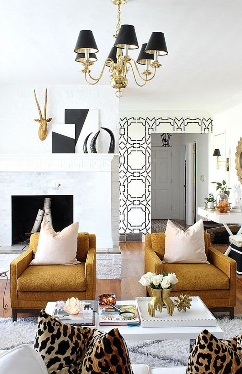 How to get the Art Deco Aesthetic in Your Living Room ...