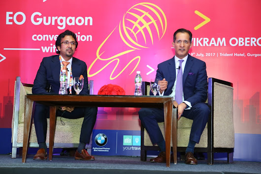 EO Gurgaon Organizes Conversation with Vikram Oberoi | Business News This Week