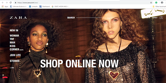 Zara launches global online stores in 106 new countries
