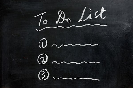 10 Tasks That Should Be On Your Todo List Today