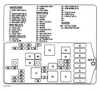 1998 Chevy Venture Dash Board and Running Lights Work