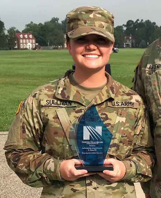 Nursing majors earn summer Army ROTC awards Two... - Bloomsburg University