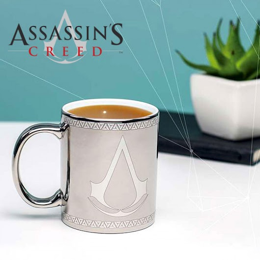 Geek : Mug chrome Assassin's Creed à 12,95 €