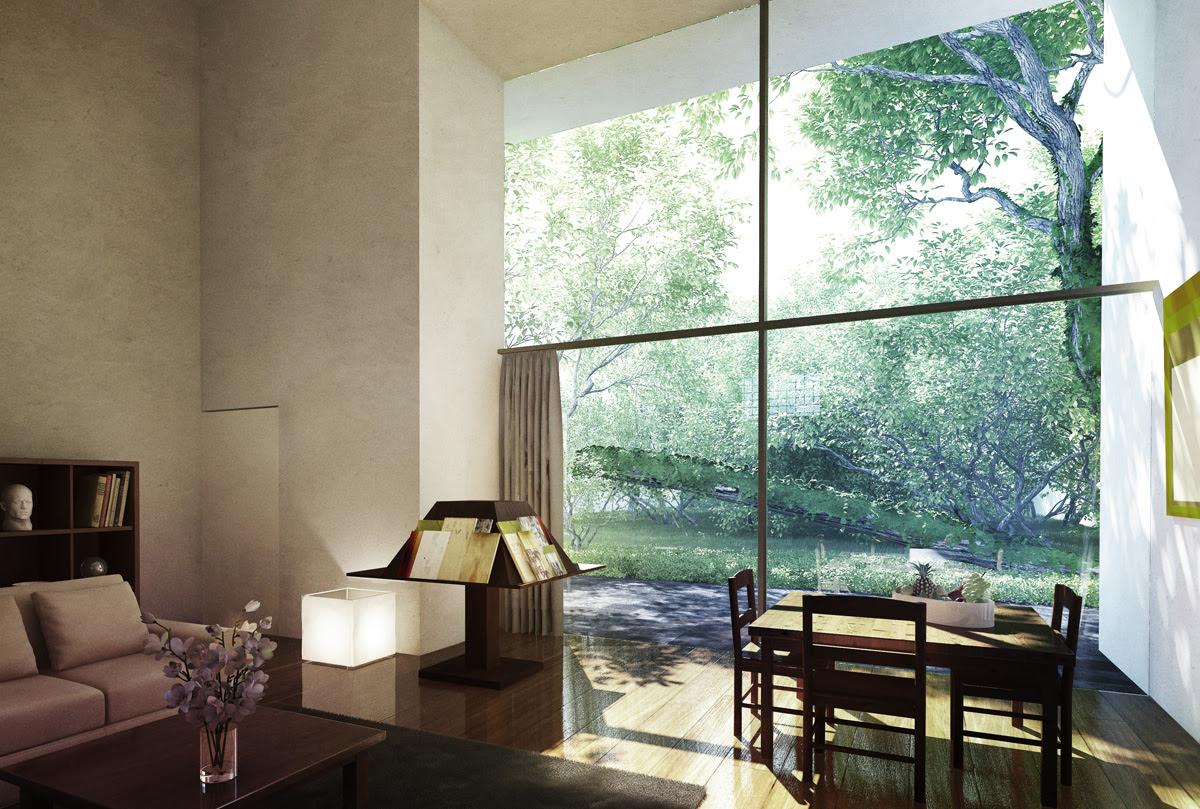 Luis Barragan House and Studio Interior