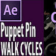 After Effects CC: Puppet Pin Walk Cycles - YouTube