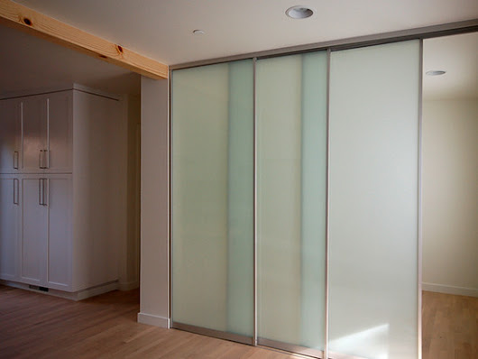 Defining Space: sliding door systems