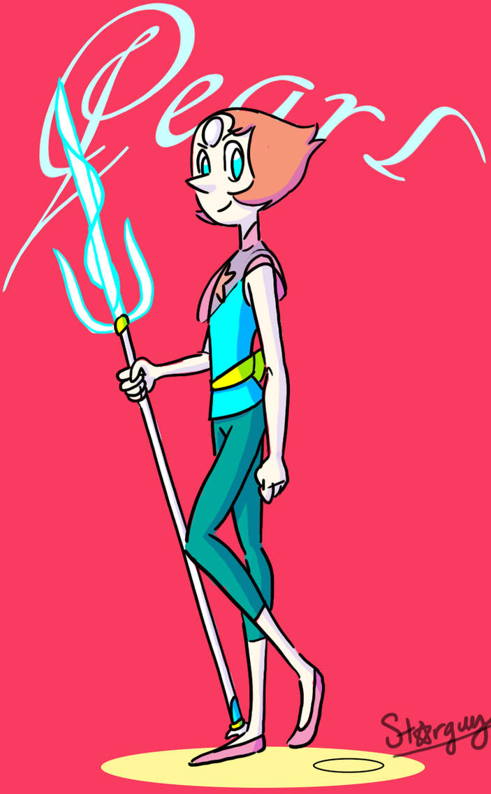 Don't forget Pearl design by Kat Morris (ghostdigits.tumblr.com)