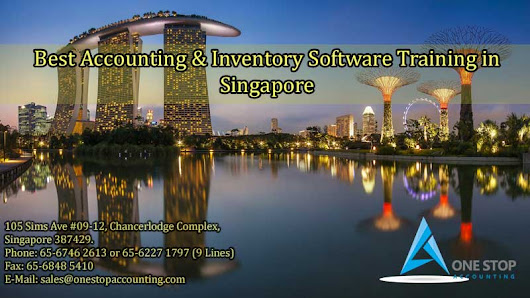 Best Accounting & Inventory Software Training in Singapore