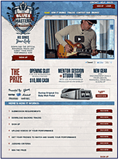 Blues Master Website