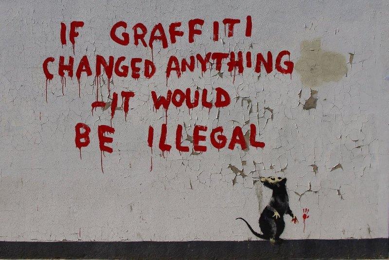Banksy If Graffiti Changed Anything