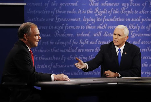 Pence's Debate Performance Puts Pressure on Trump | RealClearPolitics