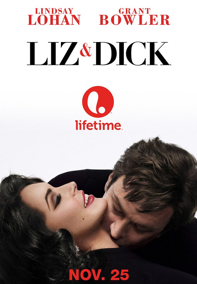 Eagerly-awaited: Lindsay and Grant star in the TV film which premieres on Lifetime Original in November