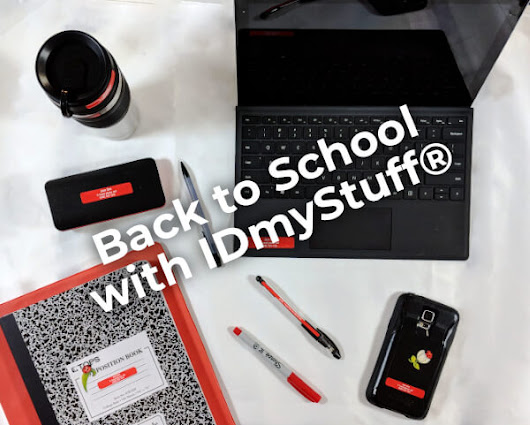 Back to School with IDmyStuff® - MaverickLabel Blog