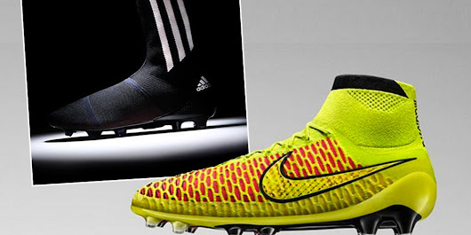 Put A Sock In It: Nike And Adidas Reveal World Cup Boots (PICTURES)