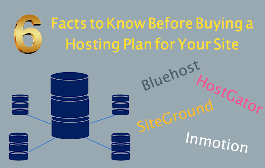 6 Facts You Should Know Before Buying a Hosting Plan » WebNots