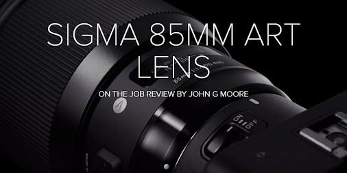 """Sigma 85mm 1.4 Art Lens ""On the Job"" Review"""