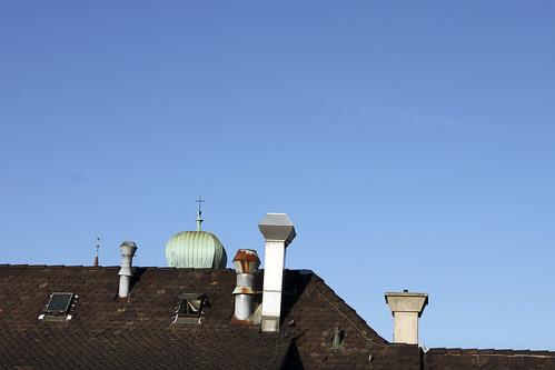 Blick aus der Dachlukarne Richtung Norden
