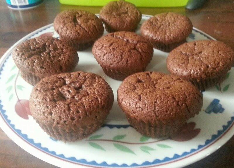 petits cakes au chocolat