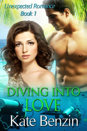 Diving Into Love (Unexpected Romance, Book 1) by Kate Benzin