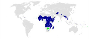 The Least Developed Countries, as designated b...