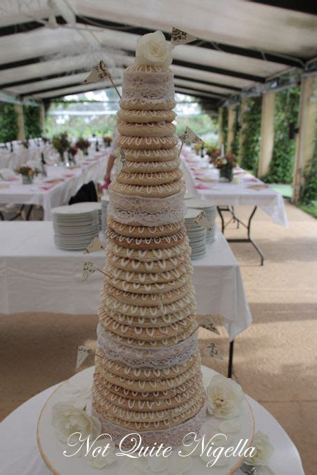 Kransekake   A Danish Wedding Cake @ Not Quite Nigella