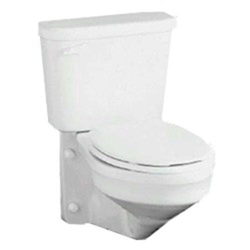 Crane Toilets Crane 3217 Wall Mount Elongated Toilet Bowl