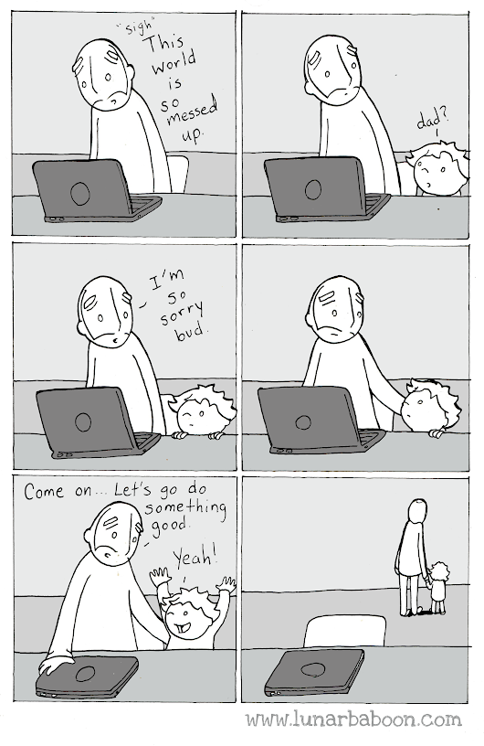 lunarbaboon - Comics - helpless