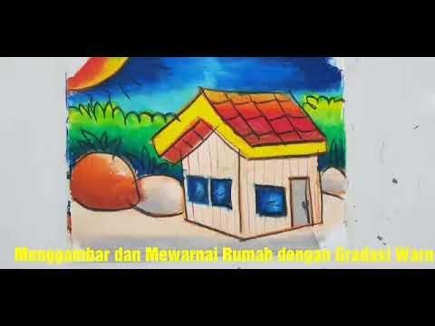 [Terlengkap!] Mewarnai Gambar Rumah Untuk Anak Tk