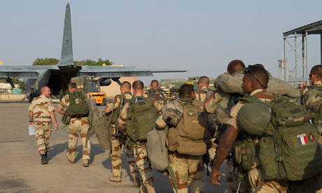 French military forces heading to Mali where a bombing operation is taking place in the north of the West African state. France says it will be there as long as necessary. by Pan-African News Wire File Photos