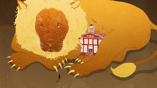 For Kids, Anxiety About School Can Feel Like 'Being Chased By A Lion'