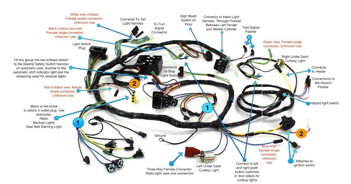 2000 Mustang Wiring Harnes - Wiring Diagrams