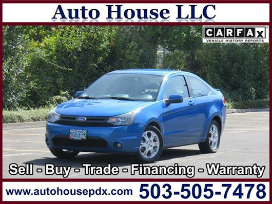 2010 Ford Focus SE - Auto House LLC - Used Car Dealership - Portland OR