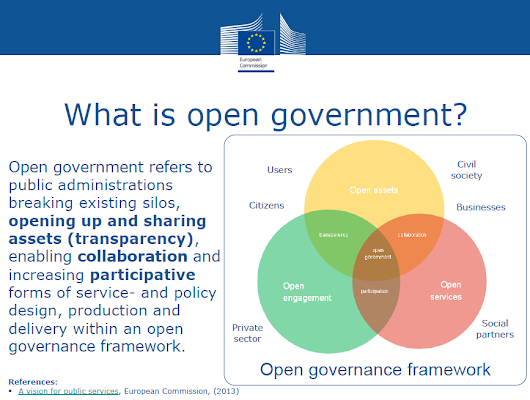 European Commission: Towards faster implementation and take-up of open government from Crowdpolicy