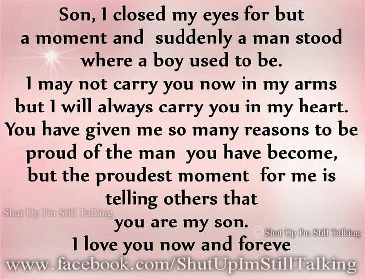Quotes About Proud Of Son 48 Quotes
