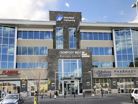 Crowfoot West Business Centre location
