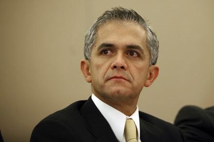 Miguel Angel Mancera, jefe de Gobierno del DF. Foto: Germán Canseco.