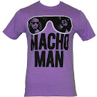 Macho Man Mens T-Shirt - Classic Glasses Filled with Randy Savage Image