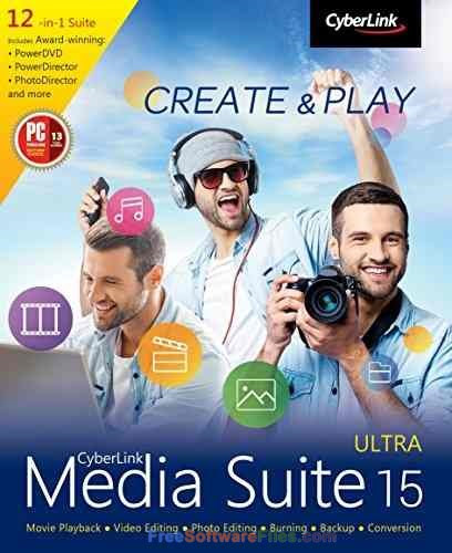 CyberLink Media Suite Ultra 15.0 Free Download