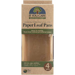 Forestgrass If You Care Loaf Baking Pans - Case of 6 - 4 Count
