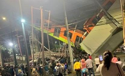 13 fallecidos y 70 heridos, el saldo al momento, del desplome del metro de la CDMX