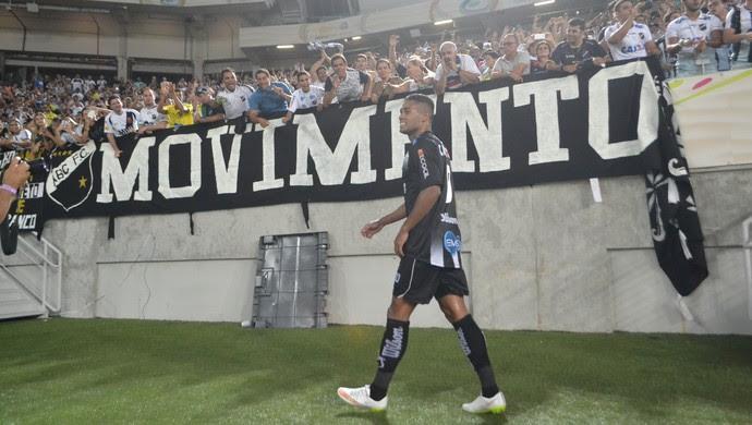 Kayke - atacante do ABC (Foto: Jocaff Souza/ GloboEsporte.com)
