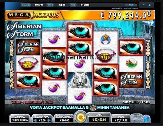 Miltä kasinolta voittaa